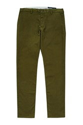 French Connection Machine Gun Stretch Chinos Olive