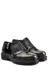 Mcq By Alexander Mcqueen Mcq Alexander Mcqueen Mixed Stud Monk Shoes Black