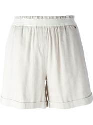 Woolrich Classic Shorts Nude And Neutrals