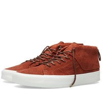 Vans Sk8 Mid Moc Ca Tortoise Shell And Blanc
