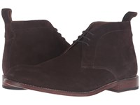 Grenson Marcus Suede Chukka Boot Chocolate Men's Shoes Brown
