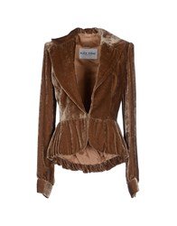 Alex Vidal Suits And Jackets Blazers Women Brown