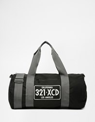 Reclaimed Vintage Carryall With Print Black