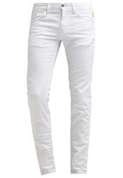 Meltin Pot Maner Slim Fit Jeans White Denim