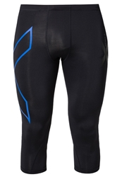2Xu Tights Schwarz Black