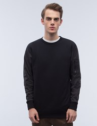 Black Scale Ma 1 Crewneck I Sweatshirt