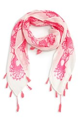 Women's Shiraleah 'Isabella' Tassel Square Scarf