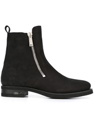 Dsquared2 Side Zip Bootie Black