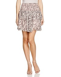 Rebecca Taylor Ruffle Skirt 100 Bloomingdale's Exclusive Black Cameo Pink