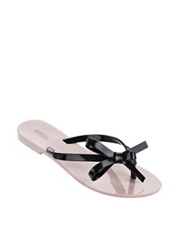 Melissa Harmonicx Jelly Bow Sandals Pink
