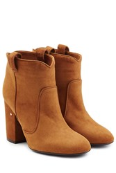 Laurence Dacade Suede Ankle Boots Camel