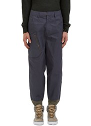 Kolor Oversized Cargo Pants Blue