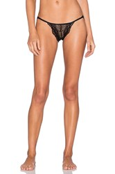 Only Hearts Club Whisper Sweet Nothings Lace Back Bikini Black