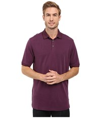Tommy Bahama New Ocean View Polo Rum Berry Men's Clothing Burgundy