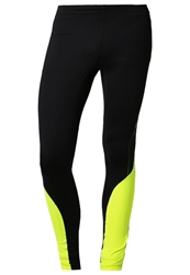 Gore Running Wear Mythos 2.0 Tights Black Neon Yellow