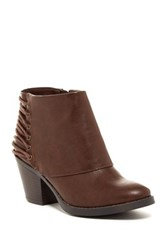 Rampage Tailspin Ankle Boot Brown