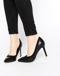 Ax Paris Marly Heeled Court Shoes Black