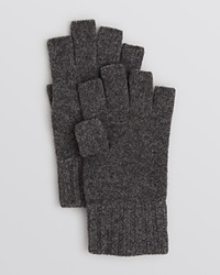 The Men's Store At Bloomingdale's Fingerless Gloves Charcoal Melange