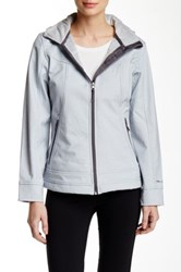 Free Country Meridian Softshell Jacket Gray