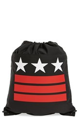 Givenchy Men's Star And Stripe Print Sport Pack Black Black Red