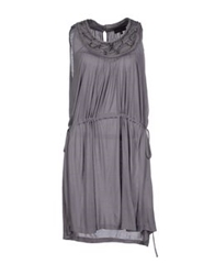 Richmond Denim Short Dresses Grey