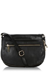 Oasis Leather Anais Satchel Black