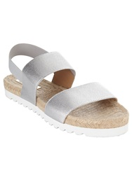 Phase Eight Jodie Poolslide Sandal Metallic