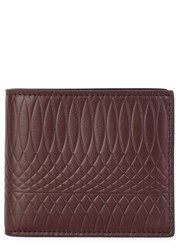 Paul Smith Embossed Burgundy Leather Wallet