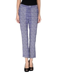 Richard Nicoll Casual Pants Purple