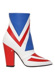 Laurence Dacade 100Mm David Bowie Leather Ankle Boots
