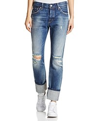 Levi's 501 Straight Leg Jeans In Ride West