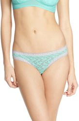 Women's Kensie 'Mattie' Lace Thong 3 For 30