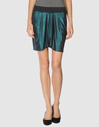 Lna Skirts Mini Skirts Women Deep Jade