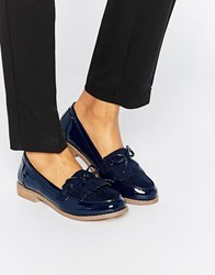 Truffle Collection Esme Bow Loafers Navy Mf