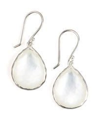 Ippolita Wonderland Teardrop Earrings Silver Mop