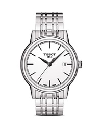 Tissot Stainless Steel Carson Watch 40Mm White