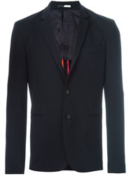 Paul Smith Ps By Two Button Blazer Blue