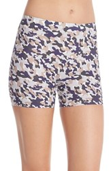 Women's Spanx Perforated Shaper Shorts Spring Camo