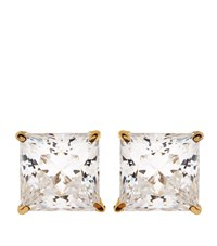 Carat Elegant Princess Stud Earrings Female