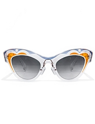 Pixie Market Clear Cat Eye Sunglasses