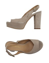 Mauro Fedeli Footwear Sandals Women Beige
