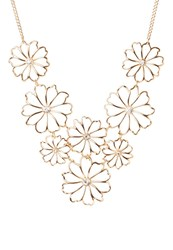 Miss Selfridge Necklace Goldcoloured