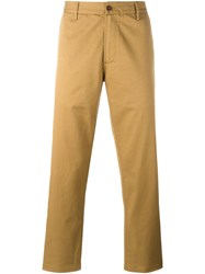 Universal Works 'Aston' Chinos Nude And Neutrals