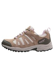 Hi Tec Hitec Alto Ii Wp Hiking Shoes Light Taupe Grey Horizone Light Grey