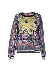 Clover Canyon Topwear Sweatshirts Women Acid Green