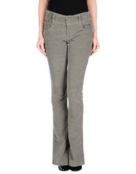 Dyed Pretty Casual Pants Grey