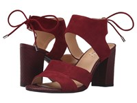 Franco Sarto Gem Bordo Women's Dress Sandals Burgundy