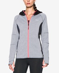 Under Armour Storm Swacket Hooded Zip Jacket Stealth Grey