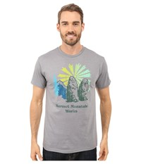 Marmot Heritage Short Sleeve Tee Athletic Heather Men's T Shirt Gray