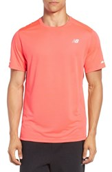 New Balance Men's 'Ice' Athletic Training Shirt Bright Cherry